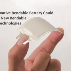 An Innovative Bendable Battery Could Lead To New Bendable Touch Technologies